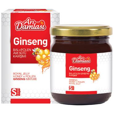 Arı Sürü Bal Polen Ginseng