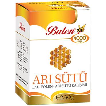 Bal & Polen & Arı Sütü Karışımı 230 gr (4000 mg)