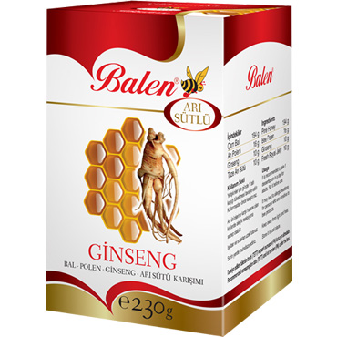Bal & Polen & Ginseng Karışımı 230 gr