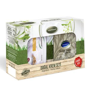 Buğdaylı Doğal Krem Seti
