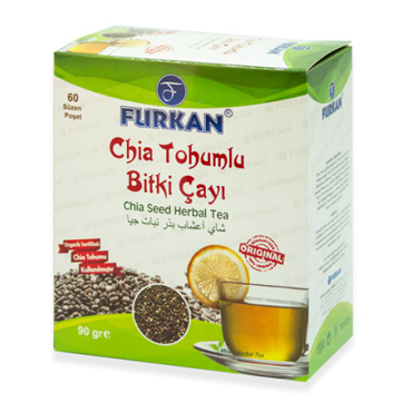 Chia Tohumlu Bitki Çayı (60 Adet)