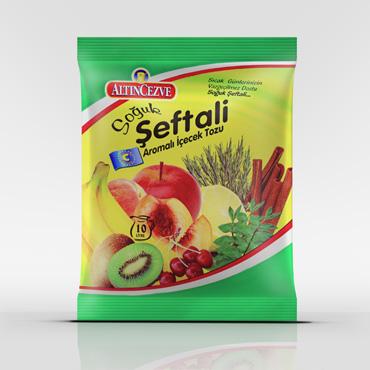Eko Şeftali Aromalı İçecek 450 gr