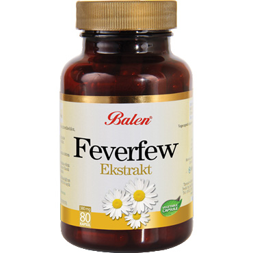 Feverfew Ekstraktı Kapsül