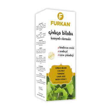 Ginkgo Biloba Karışımlı Ekstrat 100 ml