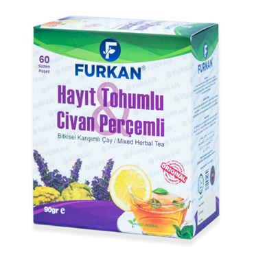 Hayıt Tohumlu & Civan Perçemli Çay (60 Adet)