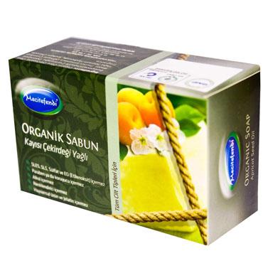 Kayısı Çekirdeği Yağlı Organik Sabun (125 gr)