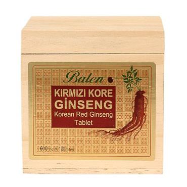 Kırmızı Kore Ginsengi Ekstraktı Tablet