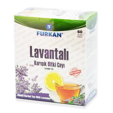 Lavantalı Bitkisel Karışımlı Çay (60 Adet)