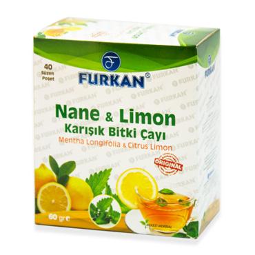 Nane & Limon Çayı (40 Adet)