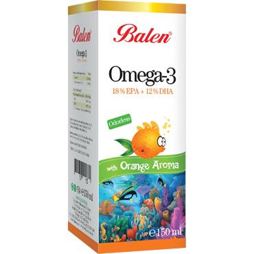 Omega 3 Portakal Aromalı Balık Yağı