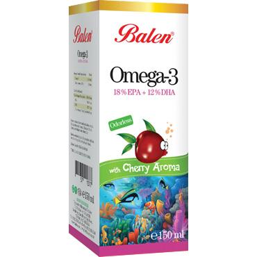 Omega 3 Vişne Aromalı Balık Yağı