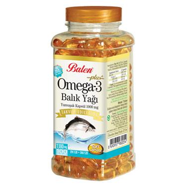 Omega3 Balık Yağı (100lük)