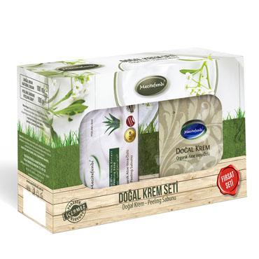 Organik Aloe Veralı Doğal Krem Seti