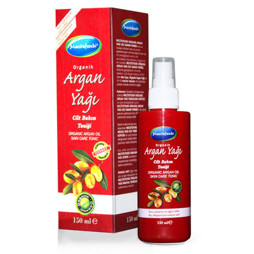Organik Argan Yağı Cilt Bakım Toniği (150 ml)