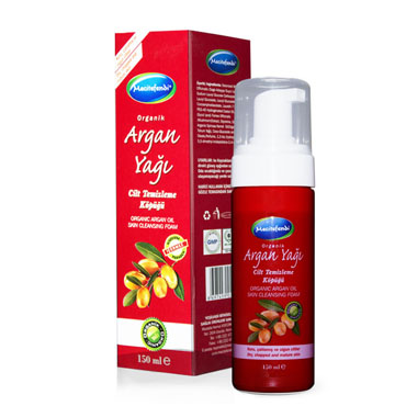 Organik Argan Yağı Cilt Temizleme Köpüğü (150 ml)