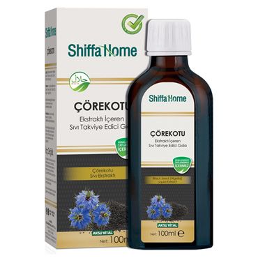 Shiffa Home Çörekotu Ekstraktı 100 ml
