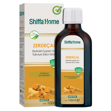 Shiffa Home Zerdeçal Sıvı Ekstrakt 100 ml