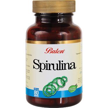 Spirulina (Mavi-Yeşil Alg) Kapsül