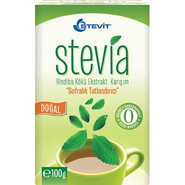 Stevit Stevia & Hindiba Kökü Ekstraktı 100 gr