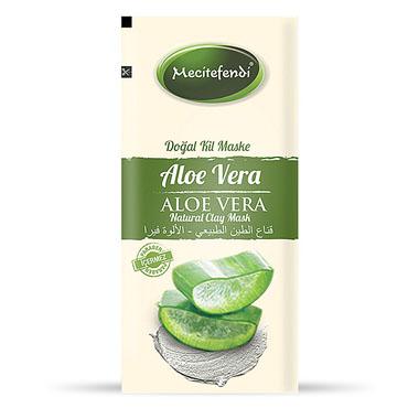 Tek Kullanımlık Aloe Vera Doğal Kil Maskesi (20 gr)