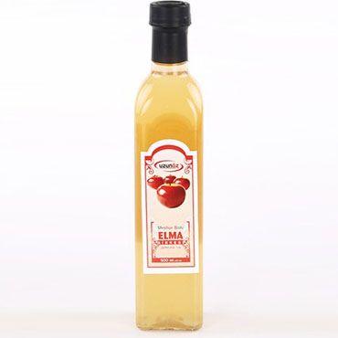 Uzunöz Elma Sirkesi (375 ml)