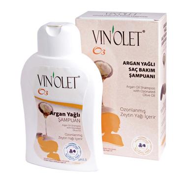 Vinolet Argan Yağlı Saç Bakım Şampuanı 350 ml