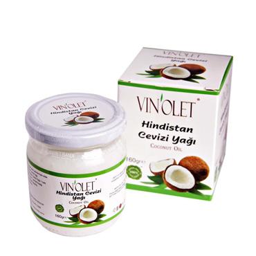 Vinolet Hindistan Cevizi Yağı 160 gr