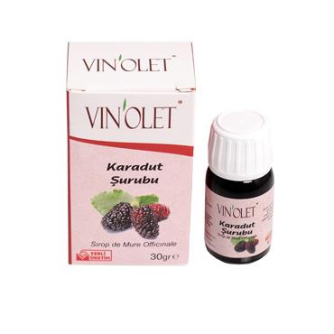 Vinolet Karadut Şurubu 30 gr
