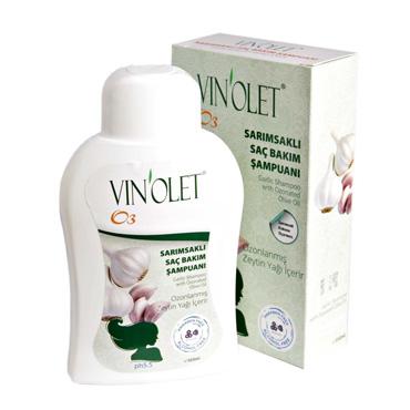 Vinolet Sarımsaklı Saç Bakım Şampuanı 350 ml