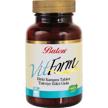 Vitform Bitki Karışımı Tablet