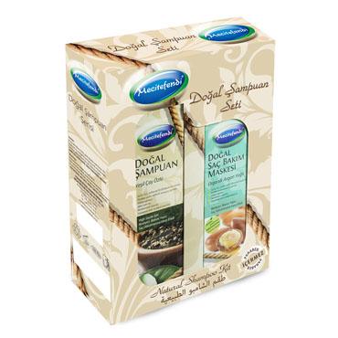 Yeşil Çay Seti Doğal Şampuan (250 ml)