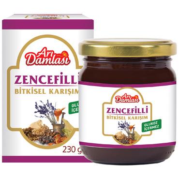 Zencefilli Bitkisel Karışım 230 gr