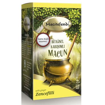 Zencefilli Bitkisel Macun (400gr)